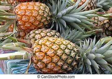 pineapple on street food