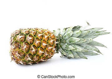 pineapple on white #