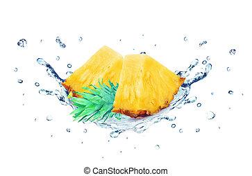 Pineapple splash water