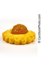 Pineapple tart - one shot of a traditional Pineapple Tart