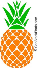 Pineapple - vector pineapple