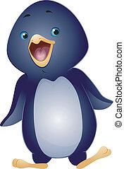 pingüim, waddling