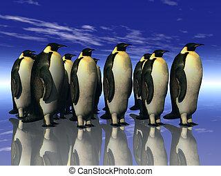 pingüins