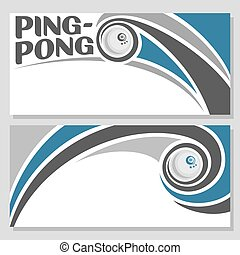 Ping-pong - Background images for text on the subject of...