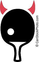 ping-pong, diable