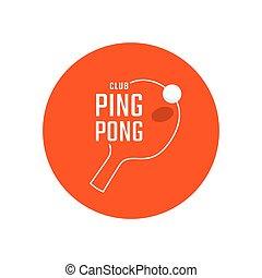 ping-pong, emblème