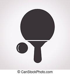 ping-pong, icône