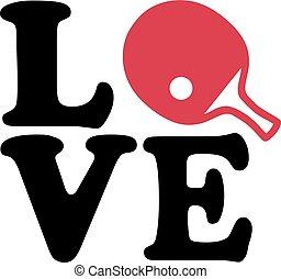 Ping pong love