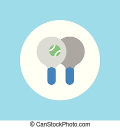 ping pong vector icon sign symbol