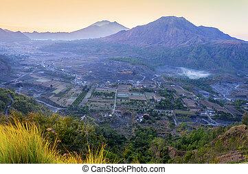 pinggan hill top view