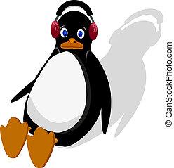 pinguino, seduta