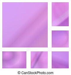 Pink abstract background design set - Pink color abstract...