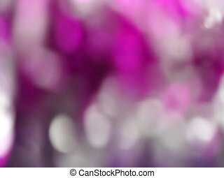 Pink Abstract blured light bokeh lights rotation background