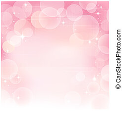 Pink abstract bubble background - Pink bubble background....