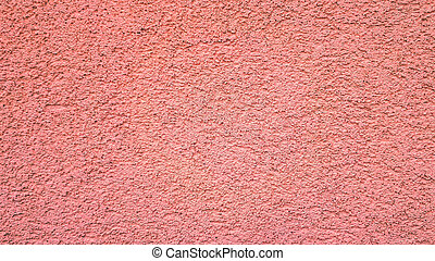 Pink abstract cement background. Blank concrete wall in pink color.