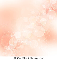 Pink abstract romantic background