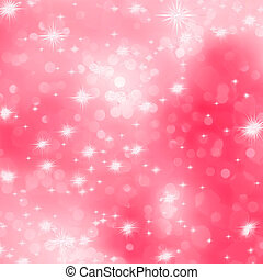 Pink abstract romantic background with stars. EPS 8 vector file included