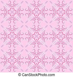 pink Abstract seamless vector pattern