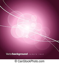 Pink Abstract Vector Background.
