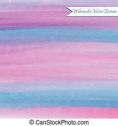 Pink and blue watercolor texture