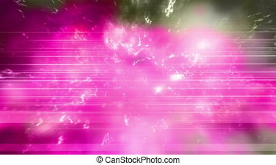 Pink and gray electric freestyle abstract loop - Looping...