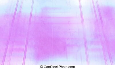 Pink and light blue beams and bars looping animated background