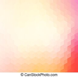 Pink and red geometric pattern background