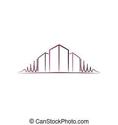 Pink architect logo