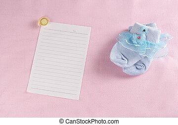 Baby New Born Greeting Card