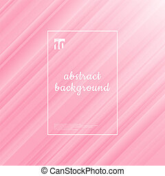 Pink background and texture. Abstract motion striped...