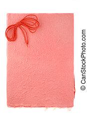 pink background - textured background paper