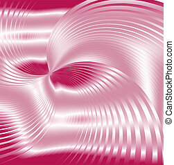 Pink background swirl  abstraction