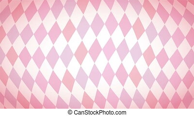 Pink background, Video animation