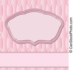 pink background with copy space