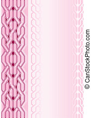 Pink background with pattern