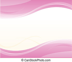 pink background with swirls and twist