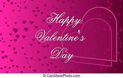 pink banner Happy Valentine's Day