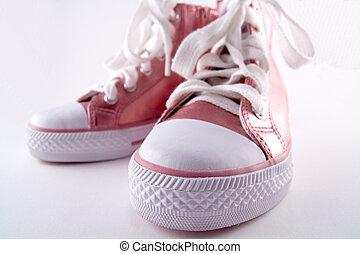 Pink Baseball Boots