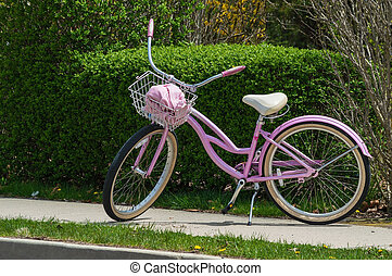 Pink Bicycle