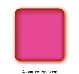 Pink Blank Button