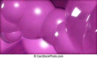 Pink blobs