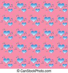 Pink-blue abstract  background in vintage style.