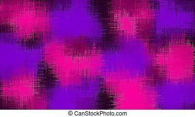 pink blue and purple painting abstract with black background