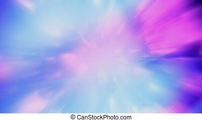 Pink blue and white abstract streaks looping animated...