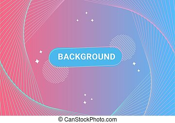 Pink blue gradient background with spiral shape