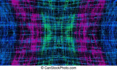 pink blue green line pattern abstract background
