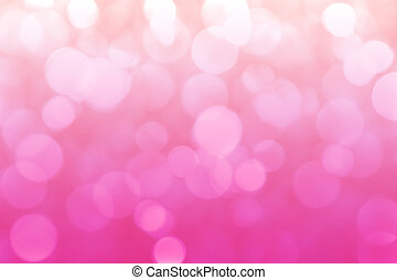 Pink blurred abstract bokeh background