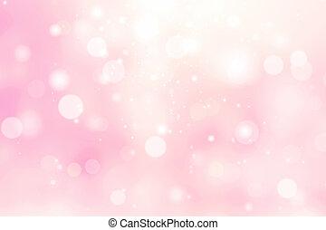 Pink blurred background, valentine backdrop.