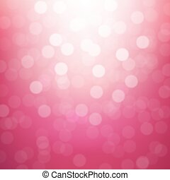 Pink Blurred Background With Gradient Mesh, Vector...