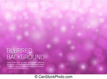 Pink blurred background with twinkly lights